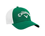 Callaway Mesh Fitted Cap - Green/White
