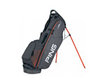 Ping 4 Series Stand Bag - Grey/Orange