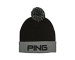 Ping Classic Bobble Knit Hat - Black/Grey